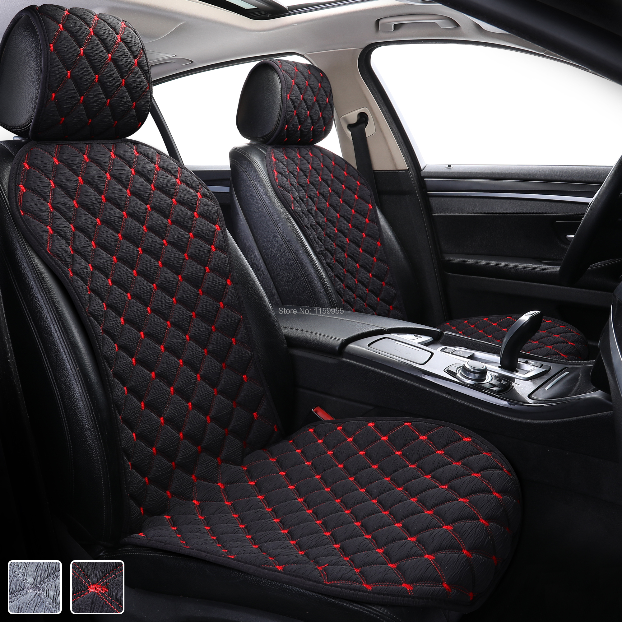 Car covered seat Protect car seat cushion Universal Car seat covers Fit Most Automotive interior Car front seat pad