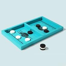 Juegos de mesa de Hockey para niños y adultos, juegos familiares de mesa
