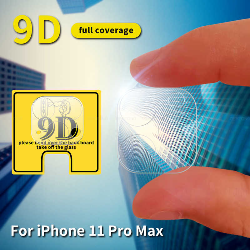 9d câmera película de vidro protetora para iphone 11 pro max 11pro 11 protetor de lente hd capa completa vidro temperado para iphone 11 2019