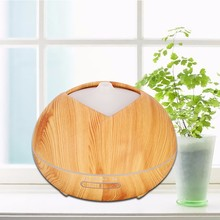 New Home Humidifier USB Aromatherapy Machine Wood Grain Essential Oil Diffuser Ultrasonic Air Purifier
