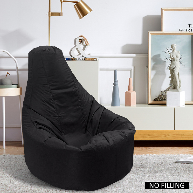 Lazy Sofas Cover Bean Bag Sofas Chairs Without Filler Oxford Cloth Lounger Seat Pouf Puff Couch Tatami Living Room Bedroom Chair