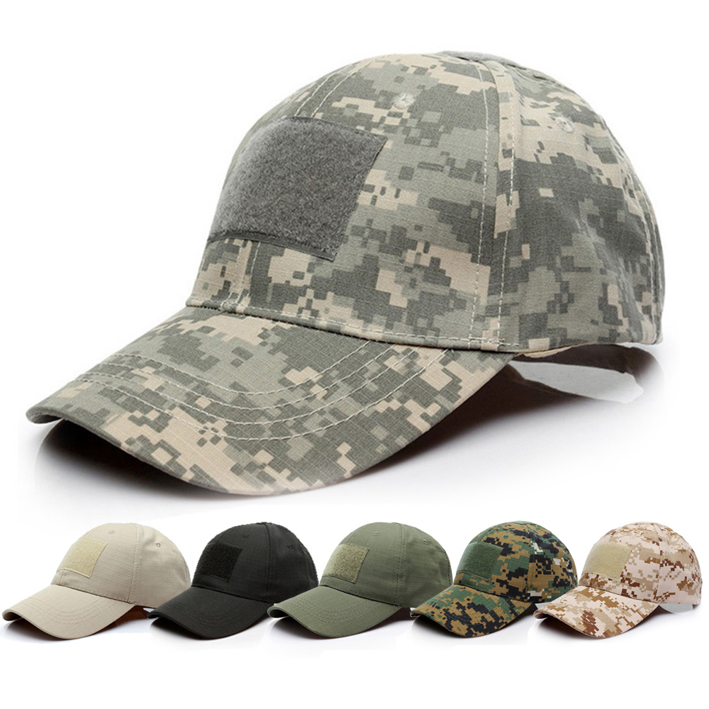 Портативная бейсболка, Спортивная Кепка для активного отдыха, военная армейская камуфляжная кепка, кепка для велоспорта, бега, с защитой го...