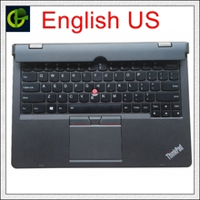 Original New keyboard with battery palmrest for Lenovo X1 Helix 2 2nd helix2 PC 2 20CG 20CH Ultrabook pro cover docking station