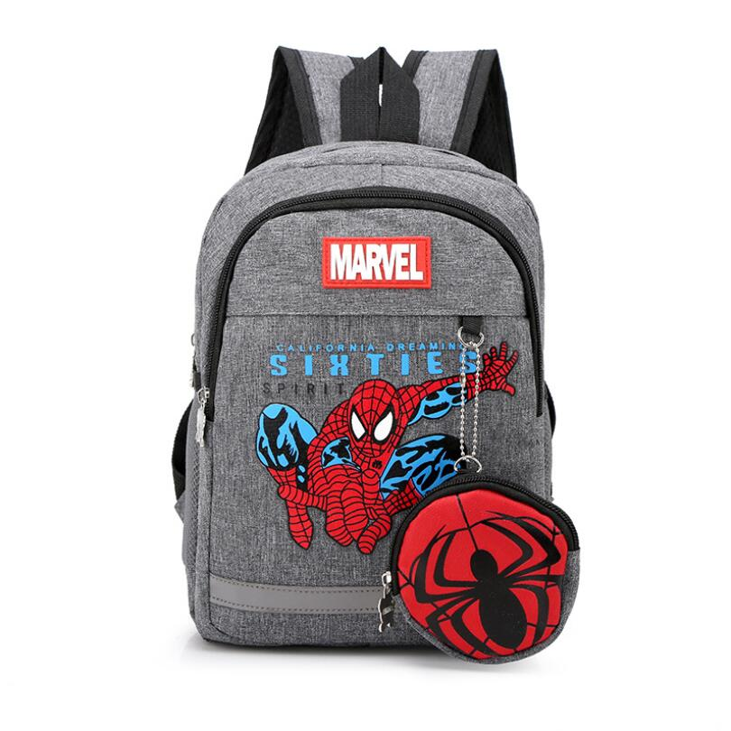 2019 New Fashion Spiderman Children School Bags Cartoon Backpack Baby Toddler Kids Book Bag Kindergarten Boy Girl Backpack