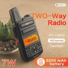 2 pces ksun X30 ML ham rádio comunicador hf transceptor rádio scanner em dois sentidos walkie talkie