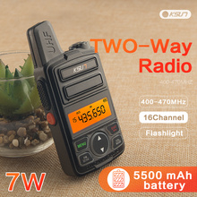 2PCS KSUN X30 ML Ham Radio Comunicador Hf Ricetrasmettitore Radio Scanner Two Way Radio Walkie Talkie