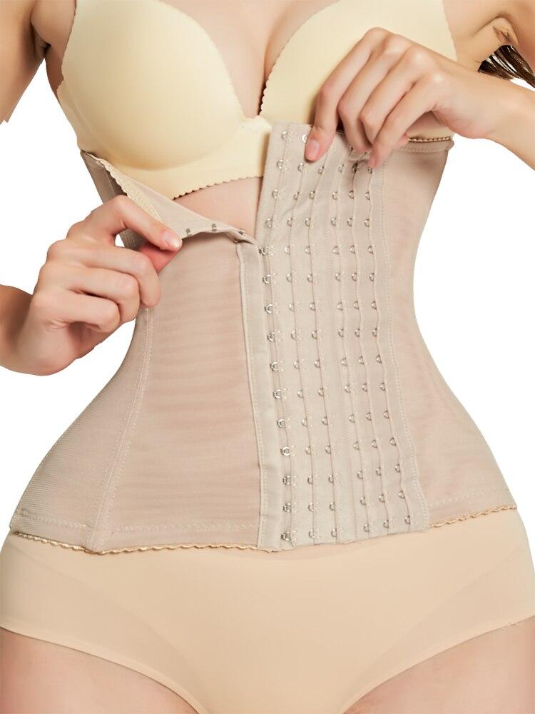 Underbust Corset Modeling-Strap Bustiers Waist-Trainer Slimming-Belt Body-Shaper Burlesque