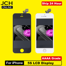 AAAA Brand New LCD Display For iPhone 5S Touch Screen Digitizer Replacement Assembly Parts for iPhone 5S SE No Dead Pixel