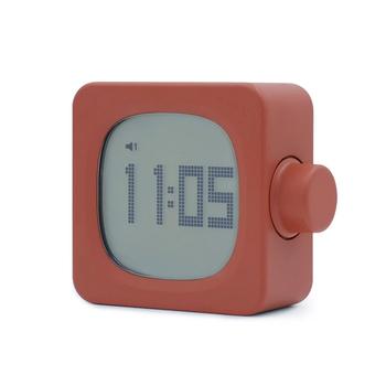 Mini Timer budzik kreatywny cyfrowy budzik LED zegar indukcyjny mały budzik USB zegar z lampką nocną tryb drzemki zegar tanie i dobre opinie Mrosaa CN (pochodzenie) SQUARE 90mm DIGITAL 164g Zegarki z alarmem Z tworzywa sztucznego 34mm Nowoczesne Funkcja drzemki