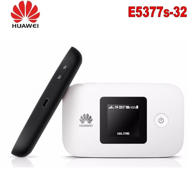 Unlocked Huawei E5377 E5377s-32 4G LTE Cat4 Mobile Hotspot