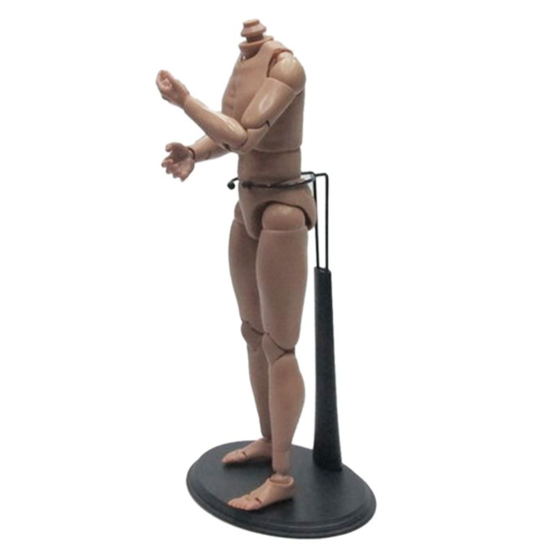 12 PC WIDE WAIST Action Figure DISPLAY STANDS 1/6 Action Figure Doll plastic metal Doll Display Stand with plastic base-2