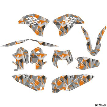Motorcycle Sticker Decals Graphics Kit for KTM 125 250 300 350 400 450 SXF SX-F SX 2007-2010 EXC EXC-F 2008 2009 2012 2011 2010 motorcycle graphics stickers decals for ktm sxf mxc xc sx exc 125 200 250 300 350 400 450 525 2005 2006 2007