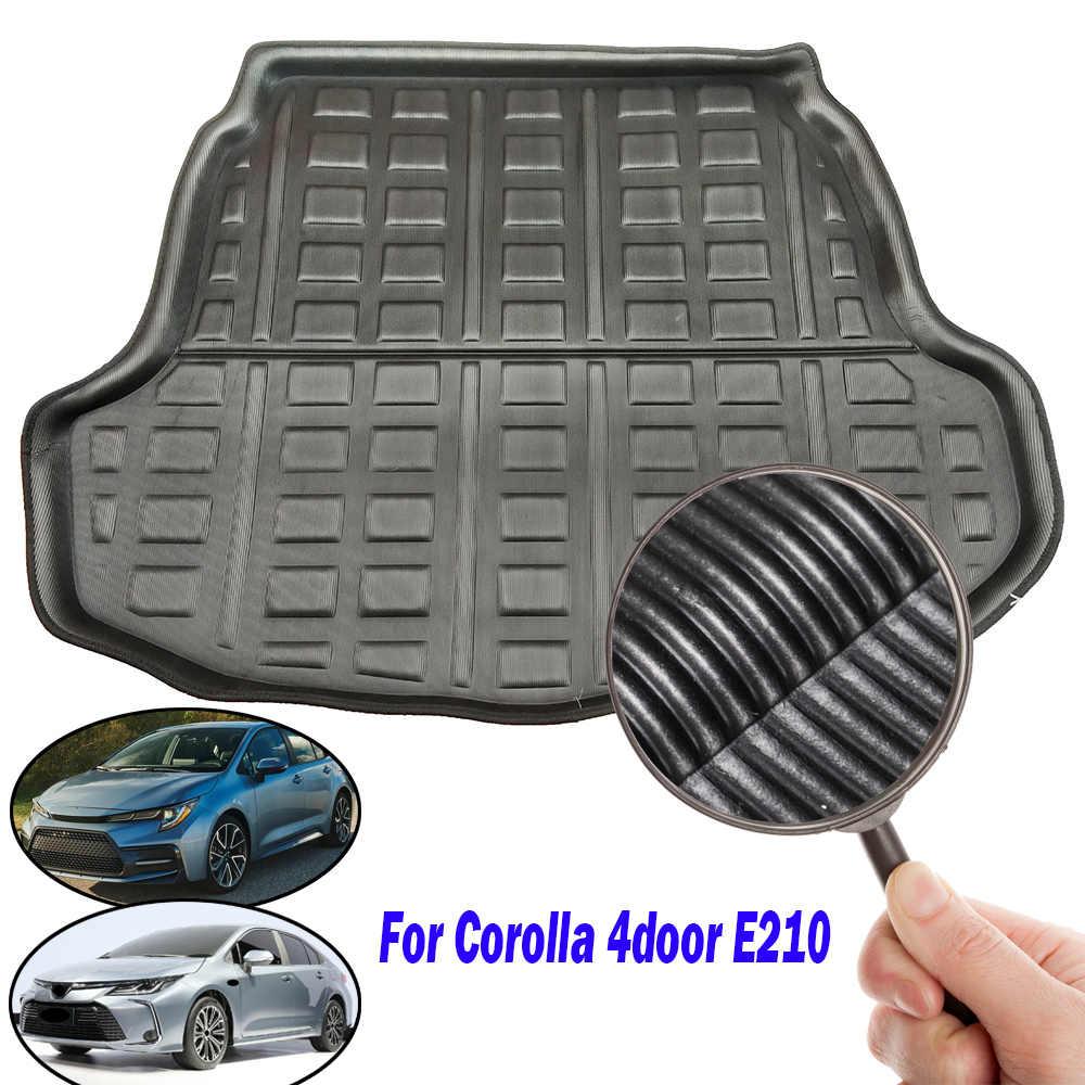 Para Toyota Corolla 4-puerta sedán salón E210 2019 2020 de carga Boot Liner bandeja posterior tronco alfombra estilo de coche