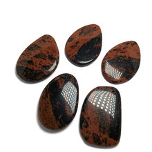 Natural Stone agates Pendant  irregular shape Exquisite Pendants charms for Jewelry making DIY Necklaces Accessories 40x60mm