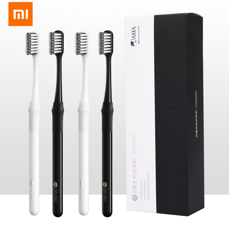 Original Xiaomi Youpin Doctor B Tooth Mi Bass Method bursh Better Brush Wire Couple Including Travel Box for Mijia Smart Home image
