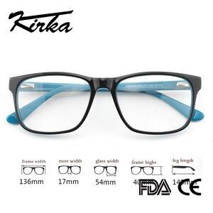 Image 2 - Kirka Men Glasses Frame Optical 2020 Vintage Men Clear Lens Prescription Spectacles Acetate Eyewear Eyeglasses Frame For Men