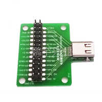 TYPE C female port Universal board with USB 3.1 Port with 24pins Test board Double-sided