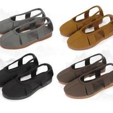 Sandals Kung-Fu-Shoes Meditation Summer Buddha Lay Monks Shaolin Zen Gray/coffee Lohan/arhat