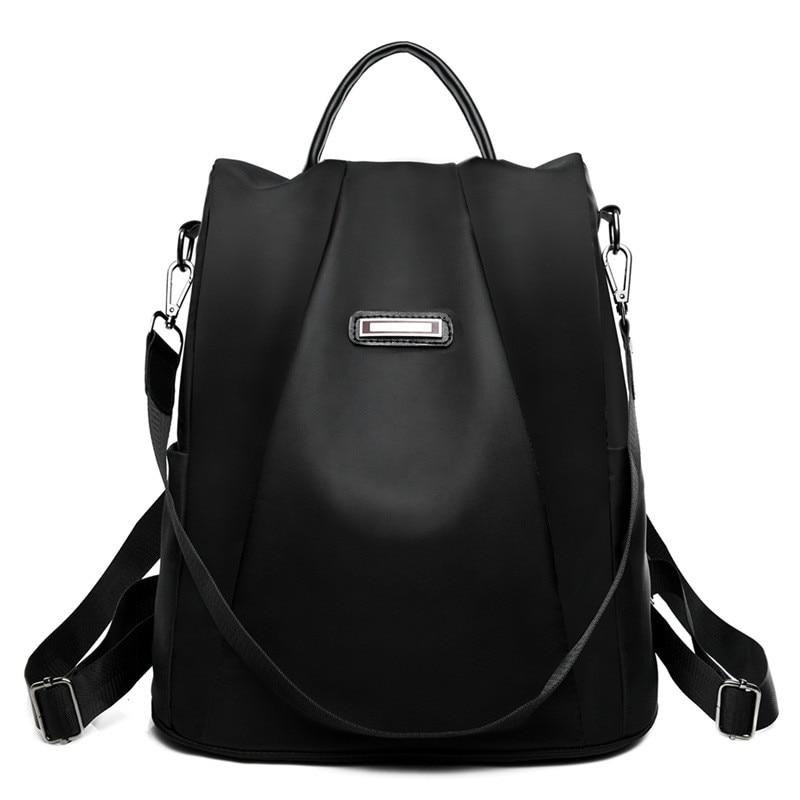Backpack Women Waterproof Oxford Cloth School Bag Multifunctional Leisure Travel Small Backpack Mochila Mujer Mochila Feminina