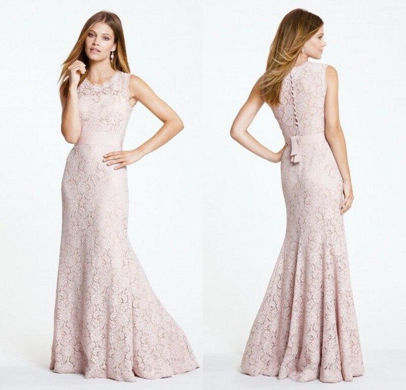 Vestido De Festa Elegant Mermaid Lace Long 2018 Free Shipping Sexy Classic Design Party Gown Robe De Soiree Bridesmaid Dresses