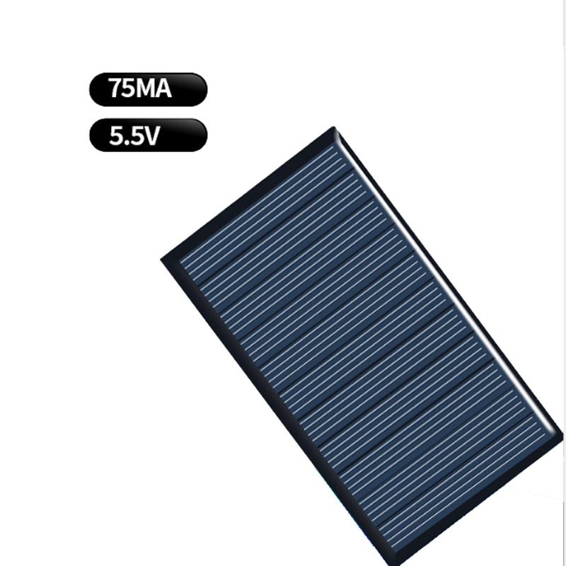 Mini 10PCS 1V 60mA Solar Panel for Cell Phone Charger Cellphone Powered 22x55mm