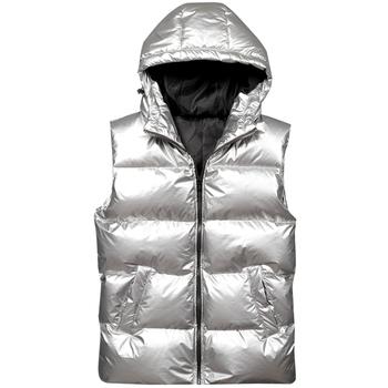 Hip Hop kamizelki mężczyźni moda marka kamizelka męska kamizelki z kapturem zimowe ciepłe kurtki bez rękawów mężczyźni płaszcz kamizelka okazjonalna męskie kamizelki tanie i dobre opinie WELLSOME COTTON waistcoat for men vest men s vest mens sleeveless jacket warm winter Stałe zipper NONE Kurtki płaszcze