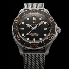 Новинка 2020 мужские часы pagani design 007 ретро механические