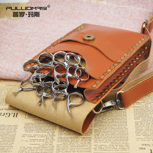 Retro Cool with Scissors Wallet Multi-functional Hair Clipper Bag Pet Division Bag