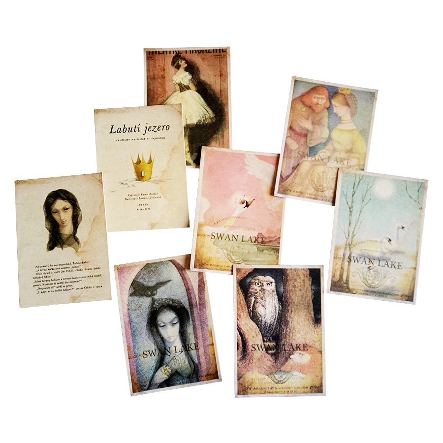 16Pcs/lot Retro Portrait Style New Year Gift Greeting Card Stationery