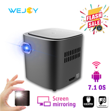 Wejoy DL-S12 Pocket Cinema Projector Mini For Mobile Phone Beamer Celular Proyector Tactil Touch WiFi TV 4K Data Show Cinemood набор полотенец peche monnaie olympus цвет оливковый 2 шт