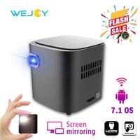 Wejoy DL S12 Pocket Cinema Projector Mini For Mobile Phone Beamer Celular Proyector Tactil Touch WiFi TV 4K Data Show Cinemood