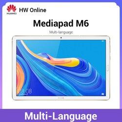 Huawei Mediapad M6 8,4 дюймов 4 Гб 64 Гб wifi планшетный ПК Kirin980 Восьмиядерный Android 9,0 Google play 6100 мАч type-C 2560x1600