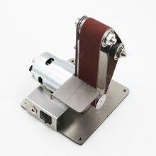 Мини DIY ленточный шлифовальный станок абразивные ленты шлифовальный станок полировка_ WK