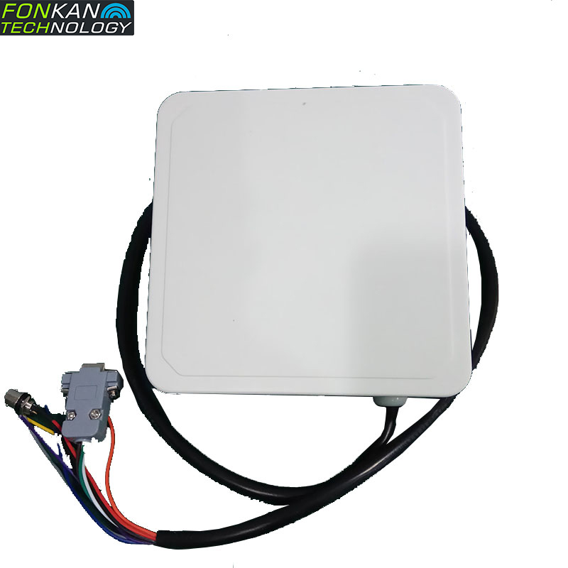 FONKAN 865-868MH 4dBi POE Power Reading Card 5m UHF Long Distance RFID Reader Industrial IP67 Waterproof Rfid PR9200