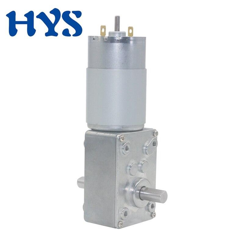 12volt-24volt-Strong-Torque-DC-Deceleration-Worm-Gear-Motor-60kg-cm-For-Curtain-Vending-Advertisement-Machine (4)