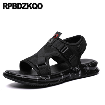 Shoes Casual Sneakers Beach Designer Fashion Black Mens Sandals 2019 Summer Outdoor Breathable Sport Native Luxury Open Toe Flat