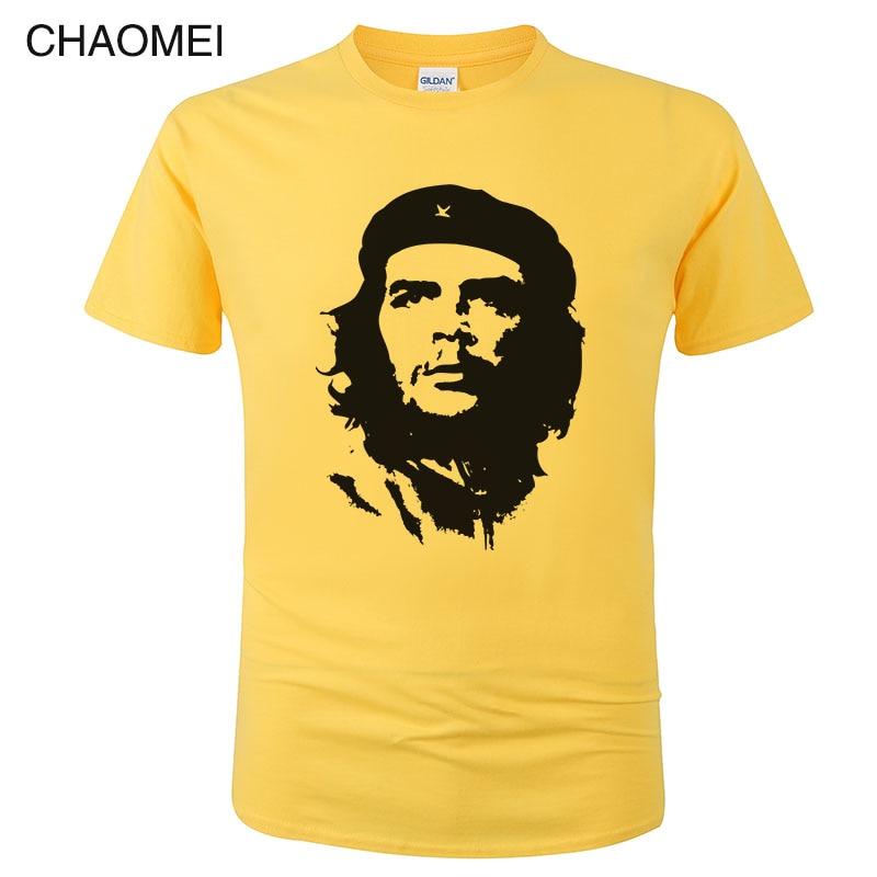 2019 Che Guevara T Shirt Men High Quality Printed 100% Cotton Short Sleeve T-Shirt Hipster Cool Tee Cool Unisex Clothing C101