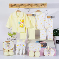 18 Pieces/sets Baby Outfit Cartoon Rabbit Newborn Girl Newborn Clothes Newborn Clothes Baby Girl Set Infant Boy Clothes