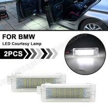 LED Luz Porta Bem vindo Cortesia Lâmpada Para BMW E81 E82 E87 E88 F20 F30 E90 E91 E92 E93 E60 E61 F07 F10 F11 F18 E63 E64 F25 E70 E71