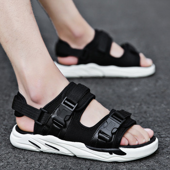Men's Sandals Breathable Teen Fashion Slippers Outdoor Comfortable Non-slip Beach