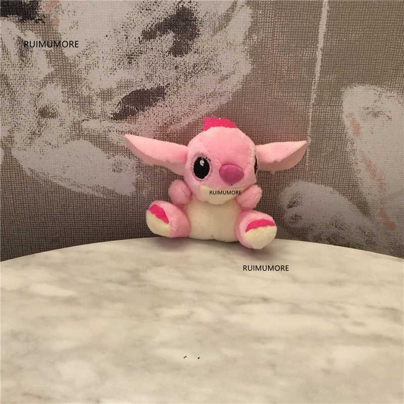 2 colori, formato 4-11 centimetri piccolo cane di Peluche; Chiavi Pendente Della Cinghia di Fascino animale giocattolo della peluche