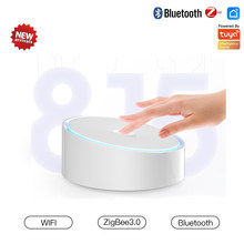ZigBee Gateway Bluetooth Smartthings Hub Wifi Tuya Smart Home Smart Life App Wireless Remote Controller Voice Control Echo Alexa