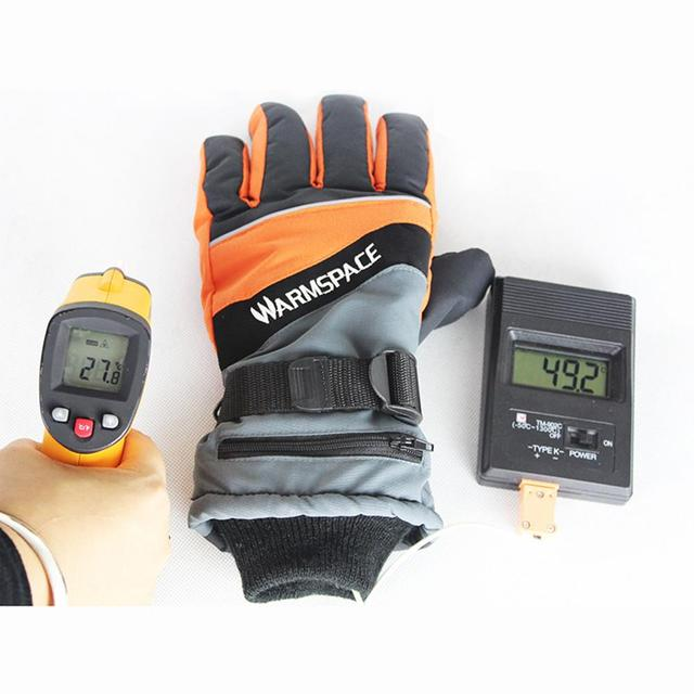 USB Heated Gloves Winter Thermal Hand Warmer Electric Heating Glove 3