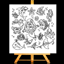 ZhuoAng Magical animal Clear Stamps/Card Making Holiday decorations For  scrapbooking Transparent stamps 13*13cm