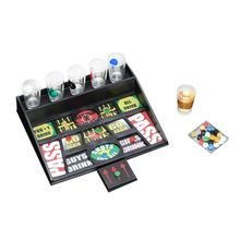 Gifts Coin Party Games Roulette Drinking Bar Game With 6 Glass Cups And 1 Board недорого