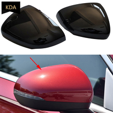 Auto Left Right Side Rearview Mirror Cover Wing Mirror Shell Cap Housing For Mercedes Benz A Class W177 W178 CLA 2019 2020