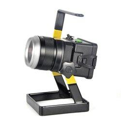 Imperméable à l'eau IP65 30W LED projecteur Portable Rechargeable lampe de travail de secours projecteur pour Camping pêche projecteur extérieur