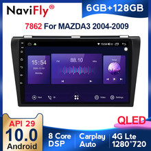 6G + 128G QLED RDS 5G WIFI Carplay Android Auto Radio Multimedia-Player Für Mazda 3 bk 2004-2013 Mazda3 Navigation GPS 2din DVD