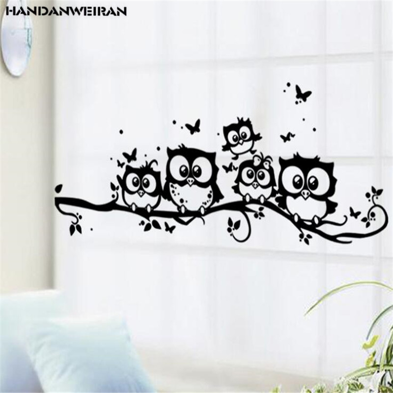 View Black Cartoon Wall Stickers Pictures