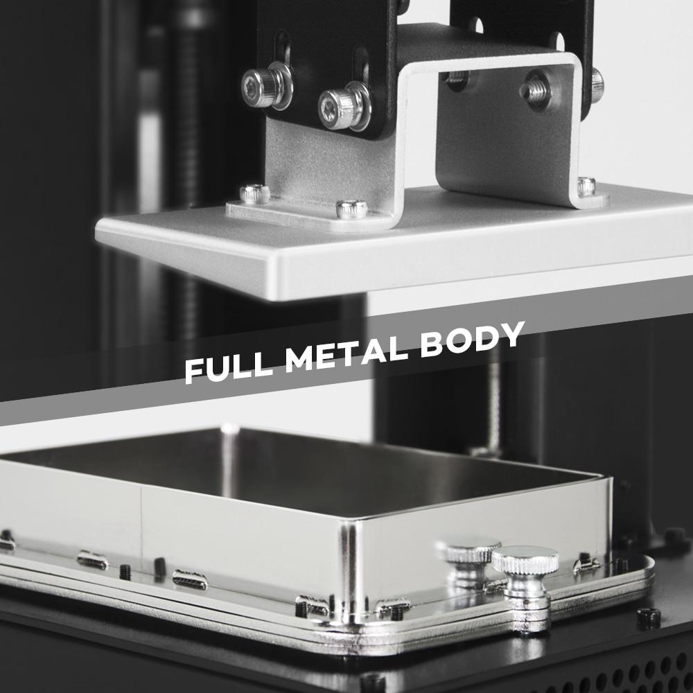 Image 4 - LONGER ORANGE 10 LCD SLA 3D Printer Kit With Resin Matrix UV Lighting of Resin 3D Printer Full Metal Body 3D Print Resin Printer3D Printers   -